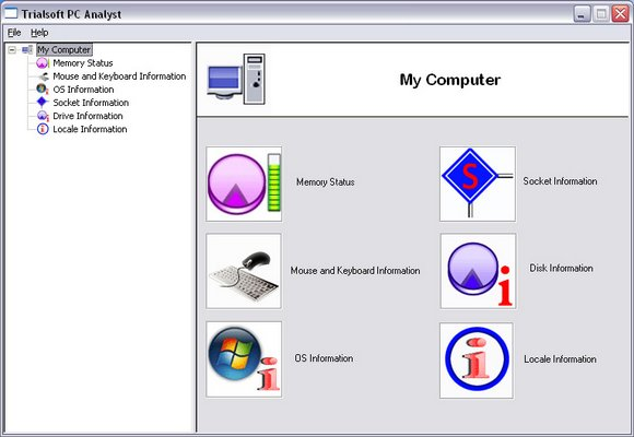 PC, analyzer, tool, analyze, system, memory, status, operating system, driver, s